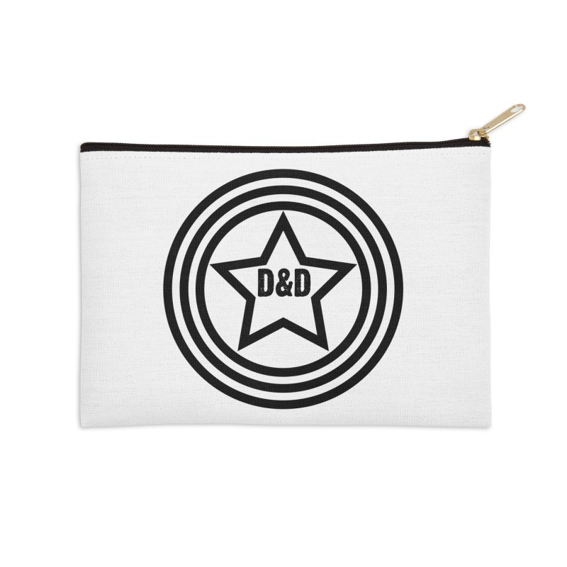 D&D - Dawn & Drew Star logo Accessories Zip Pouch by Drew's Barn Burner Shop
