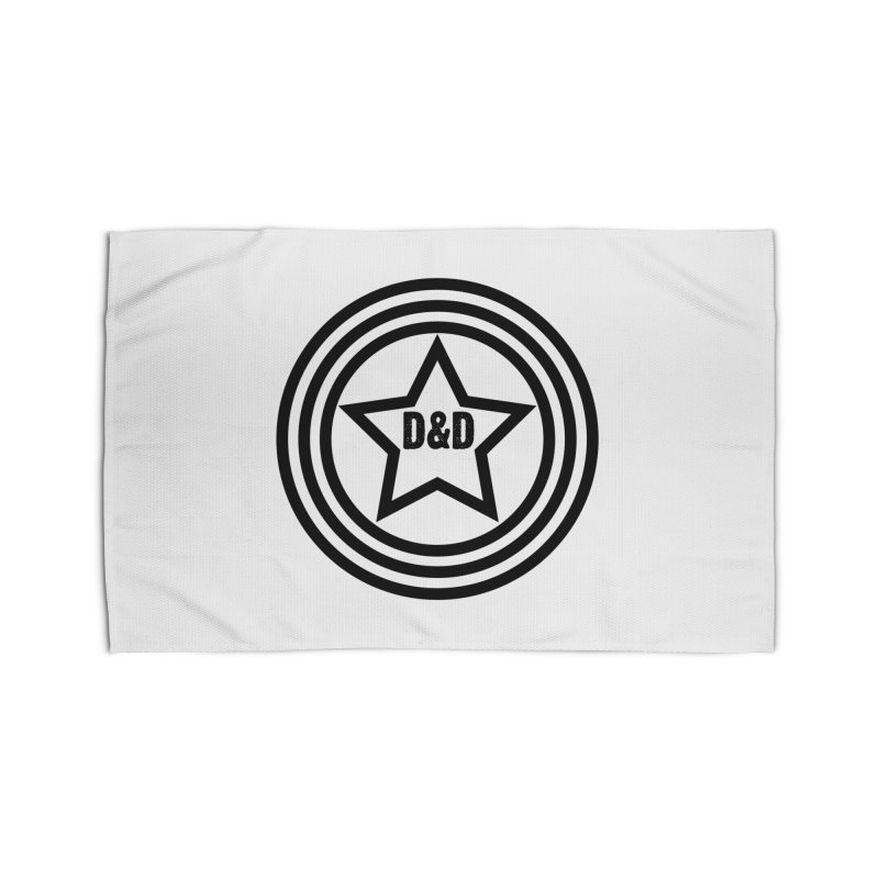 D&D - Dawn & Drew Star logo Home Rug by Drew's Barn Burner Shop