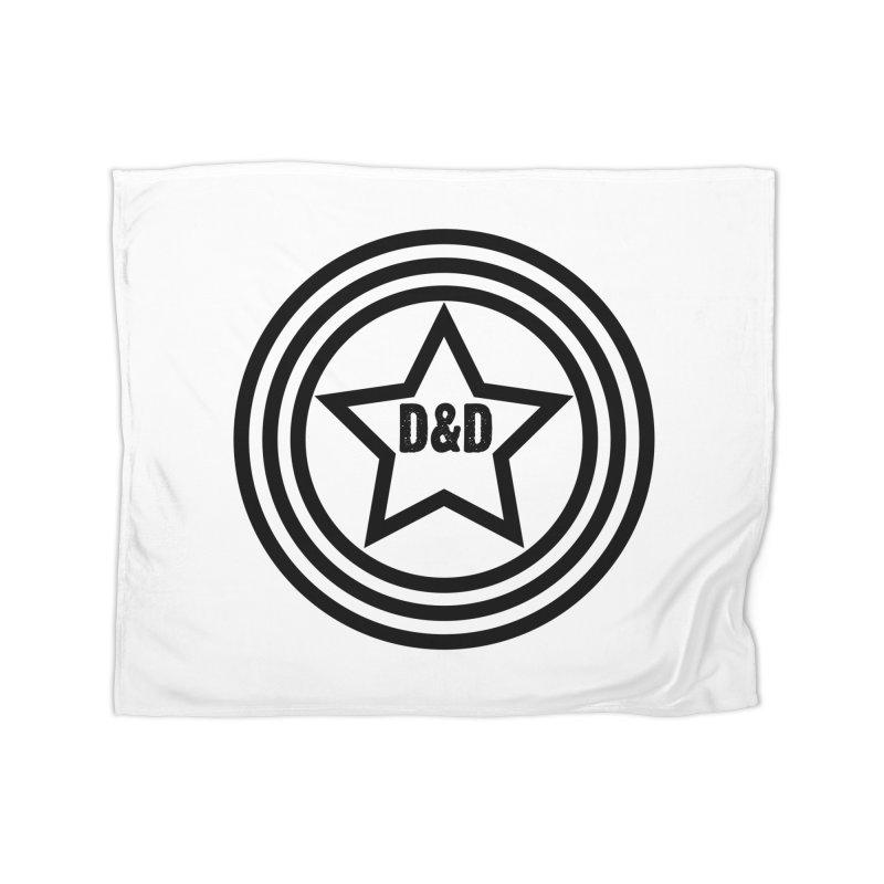 D&D - Dawn & Drew Star logo Home Blanket by Drew's Barn Burner Shop