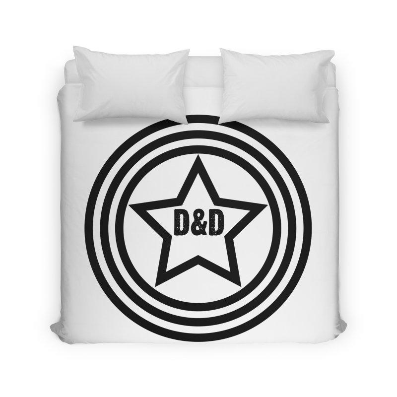 D&D - Dawn & Drew Star logo Home Duvet by Drew's Barn Burner Shop