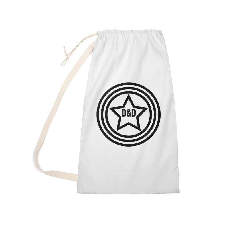 D&D - Dawn & Drew Star logo Accessories Laundry Bag Bag by Drew's Barn Burner Shop