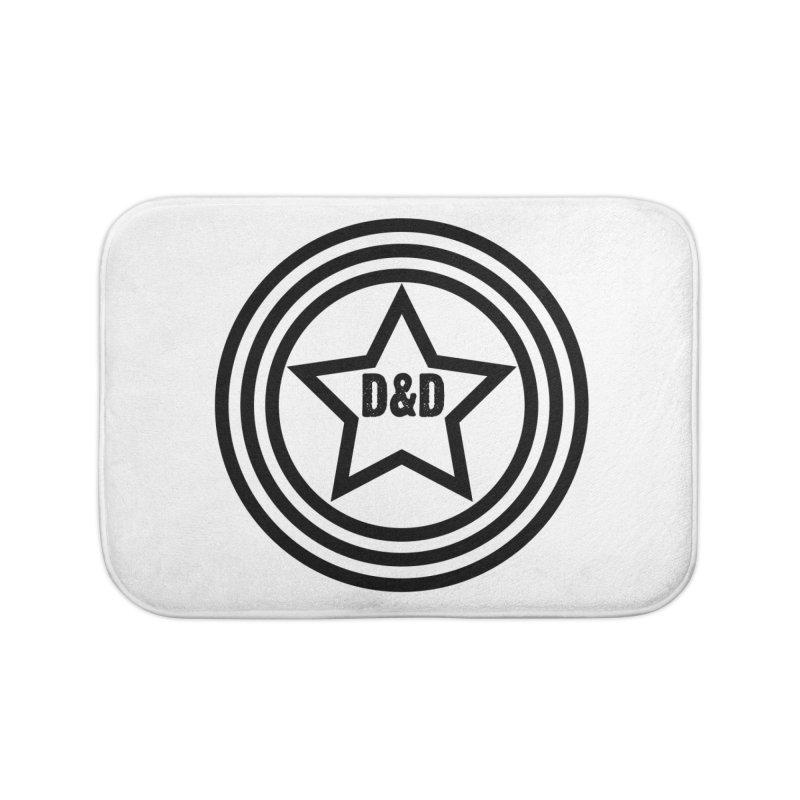 D&D - Dawn & Drew Star logo Home Bath Mat by Drew's Barn Burner Shop