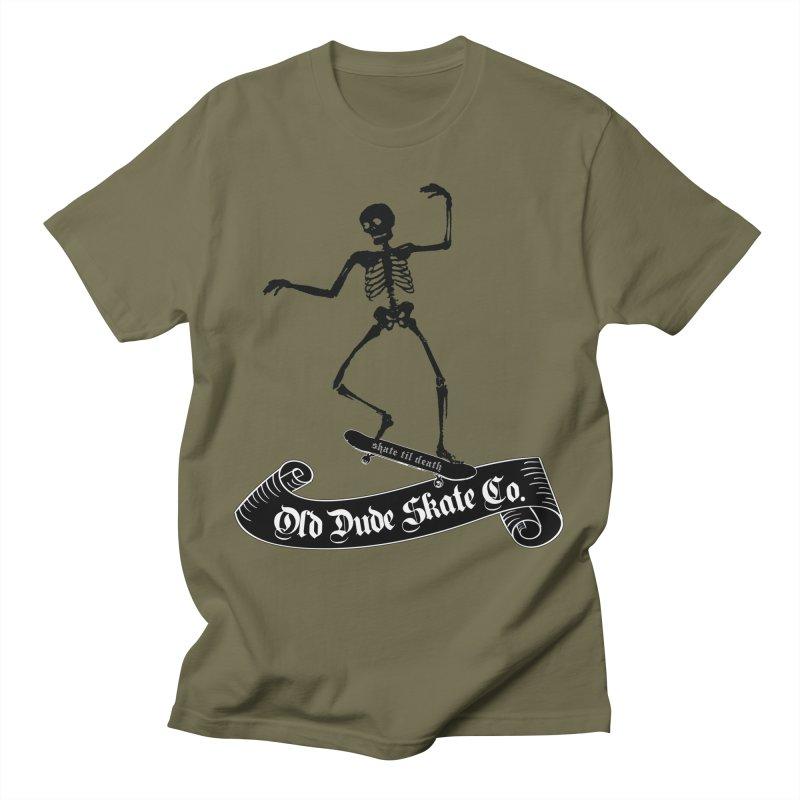 ODS Grinding Skelton Men's T-Shirt by Drew's Barn Burner Shop