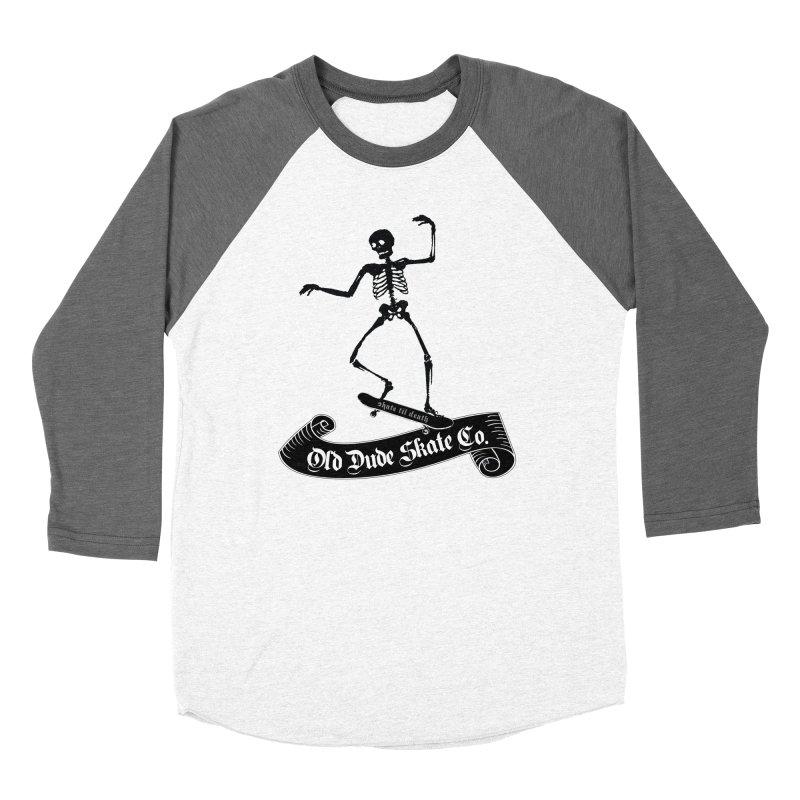 ODS Grinding Skelton Women's Longsleeve T-Shirt by Drew's Barn Burner Shop