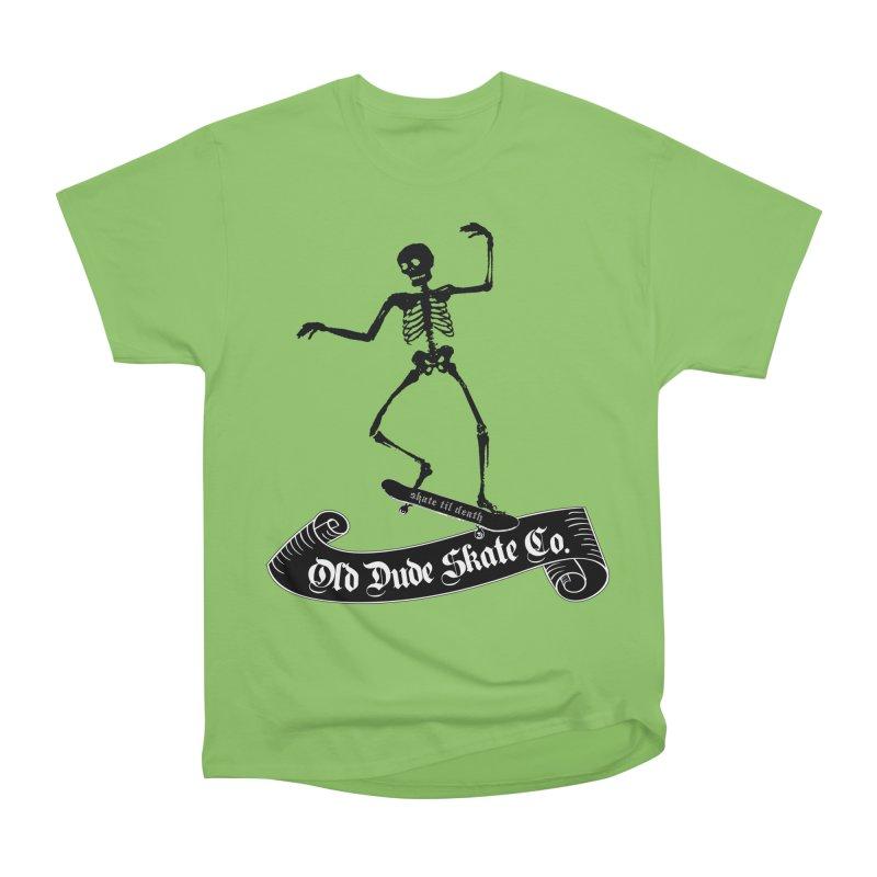 ODS Grinding Skelton Men's Heavyweight T-Shirt by Drew's Barn Burner Shop