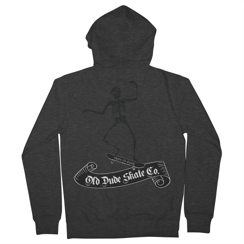 ODS Grinding Skelton Women's Zip-Up Hoody by Drew's Barn Burner Shop