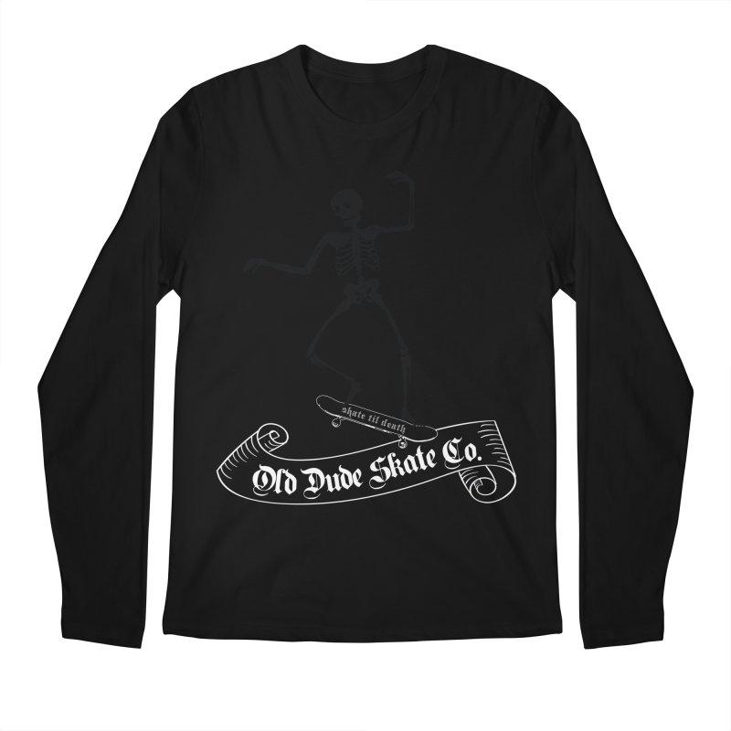 ODS Grinding Skelton Men's Regular Longsleeve T-Shirt by Drew's Barn Burner Shop