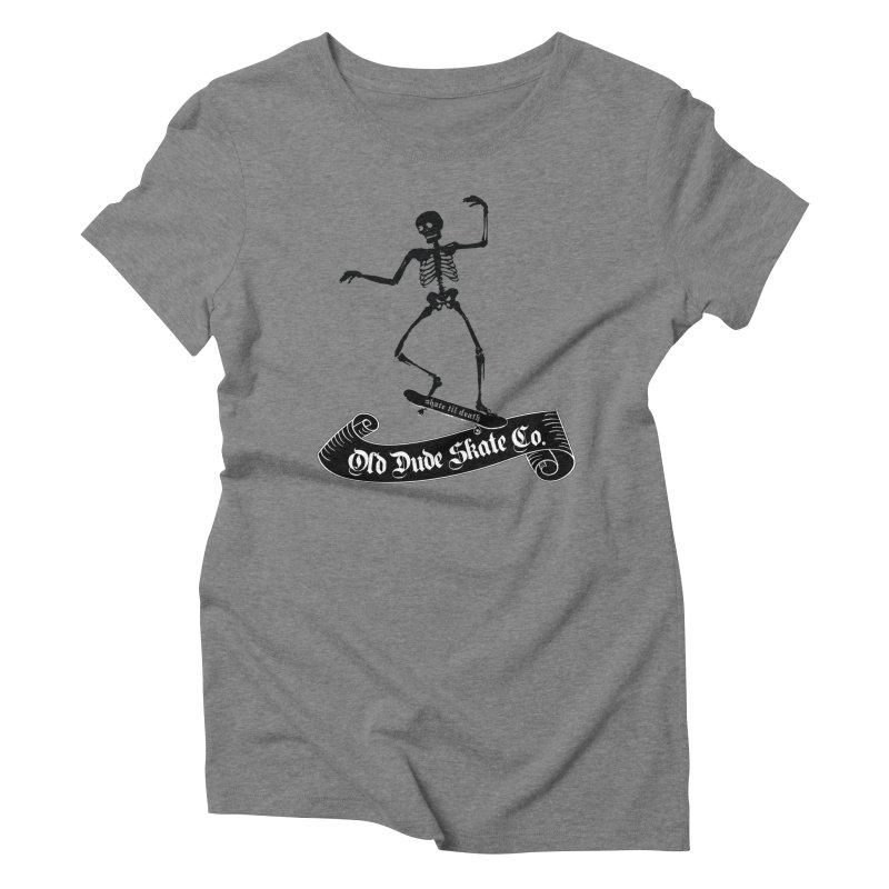 ODS Grinding Skelton Women's Triblend T-Shirt by Drew's Barn Burner Shop