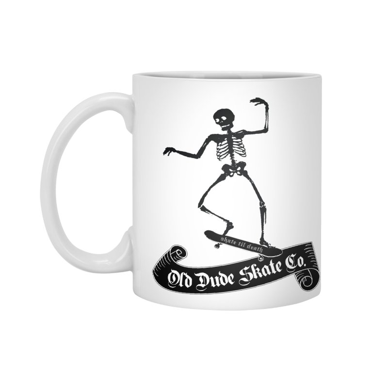 ODS Grinding Skelton Accessories Mug by Drew's Barn Burner Shop
