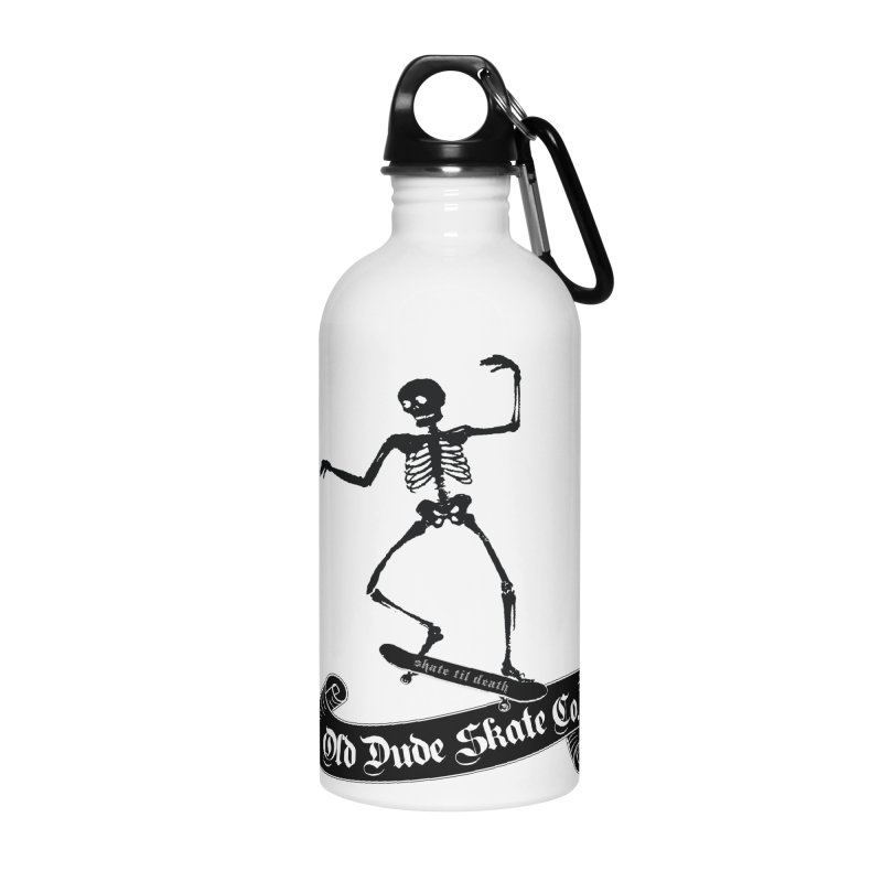ODS Grinding Skelton Accessories Water Bottle by Drew's Barn Burner Shop