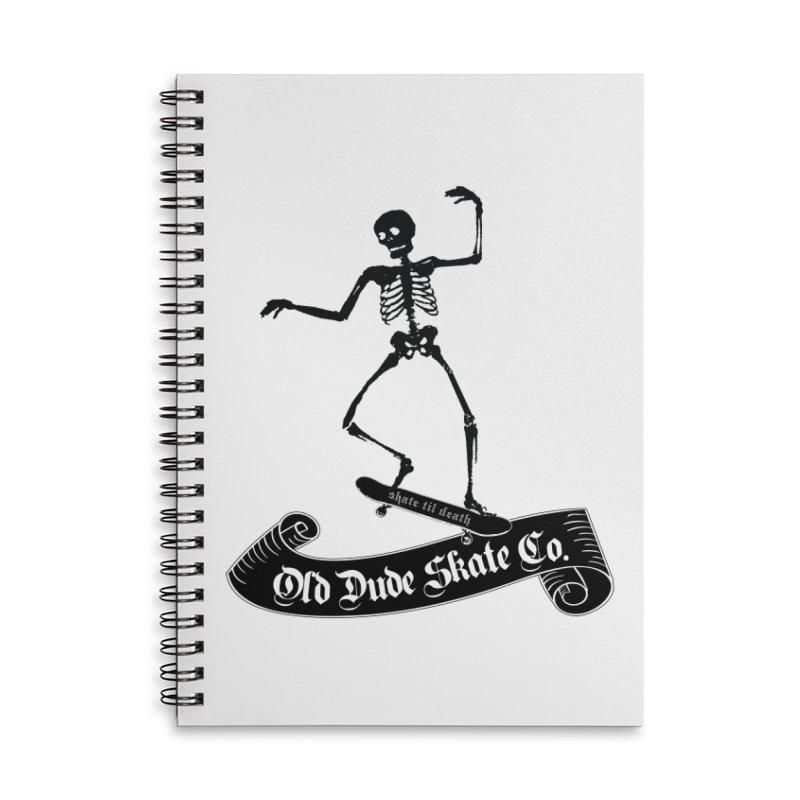 ODS Grinding Skelton Accessories Notebook by Drew's Barn Burner Shop