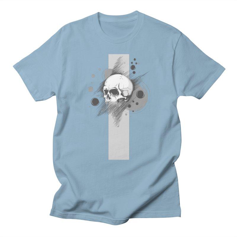 Skull of Stress Men's T-Shirt by barondzines