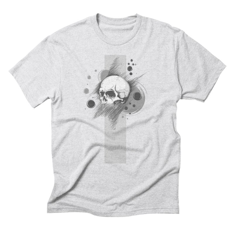 Skull of Stress Men's Triblend T-Shirt by barondzines