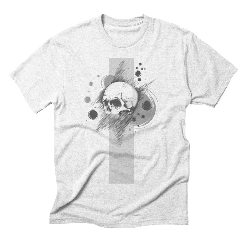 Skull of Stress Men's Triblend T-shirt by barondzines