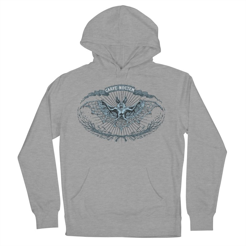 CARPIE NOCTEM (SEIZE THE NIGHT) Women's Pullover Hoody by Baron Wolf Creative