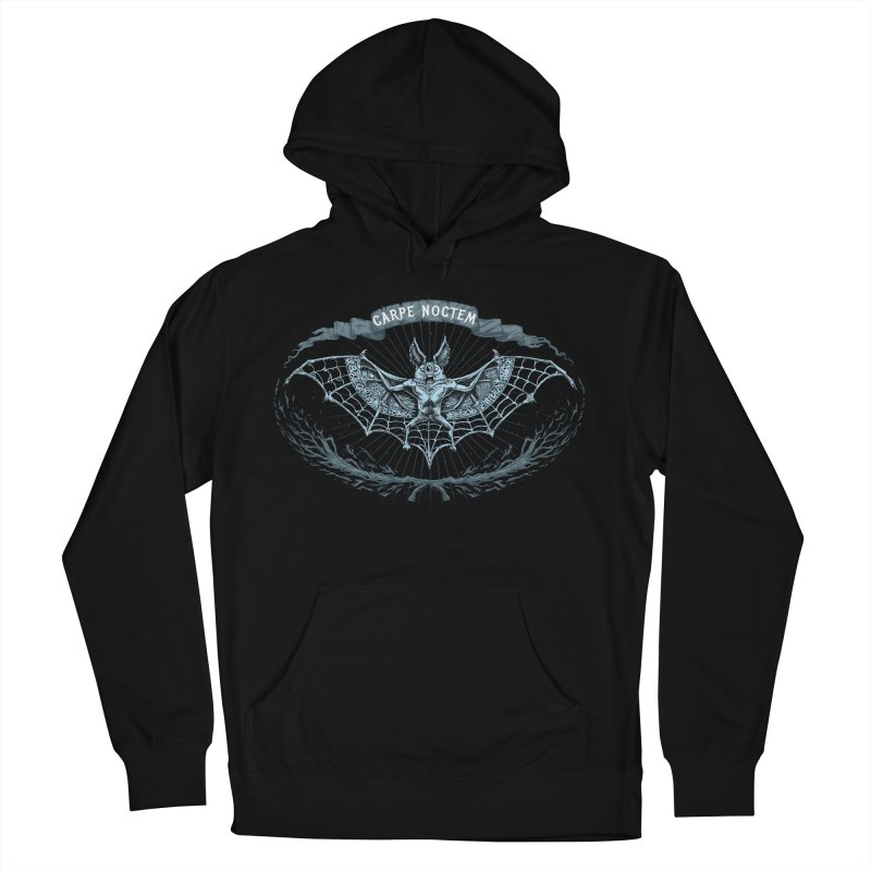 CARPIE NOCTEM (SEIZE THE NIGHT) Women's French Terry Pullover Hoody by Baron Wolf Creative