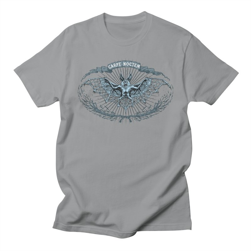 CARPIE NOCTEM (SEIZE THE NIGHT) Men's T-Shirt by Baron Wolf Creative