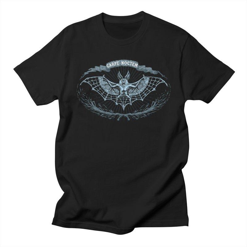 CARPIE NOCTEM (SEIZE THE NIGHT) Women's Unisex T-Shirt by Baron Wolf Creative