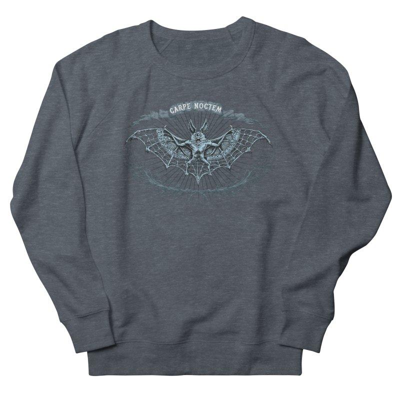 CARPIE NOCTEM (SEIZE THE NIGHT) Men's Sweatshirt by Baron Wolf Creative
