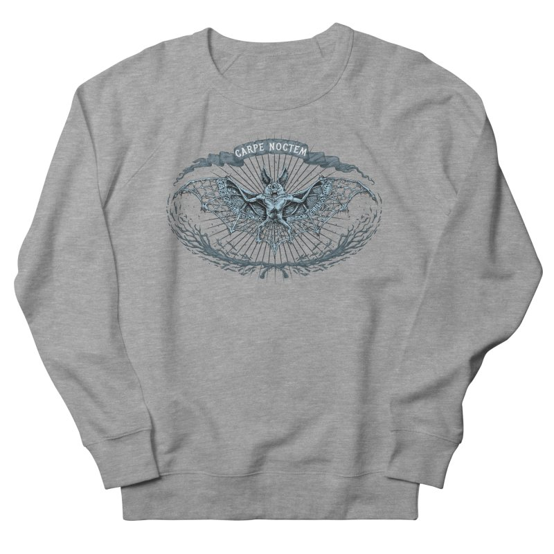 CARPIE NOCTEM (SEIZE THE NIGHT) Men's Sweatshirt by Baron Wolf Creative