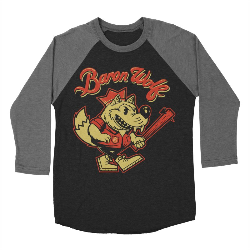 BARKLEY THE WOLF! Men's Longsleeve T-Shirt by Baron Wolf Creative