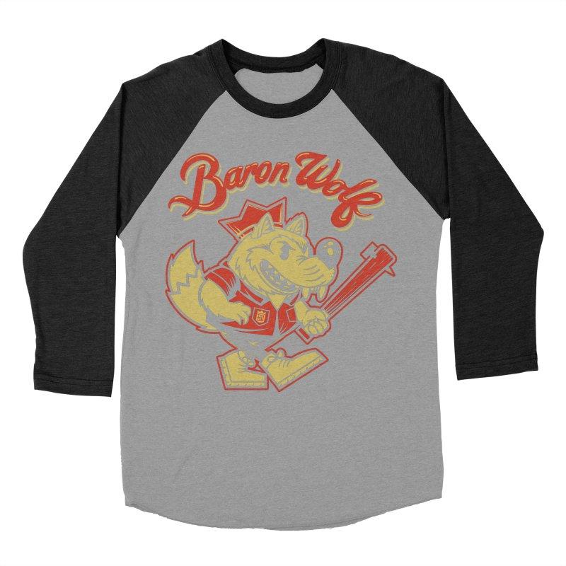 BARKLEY THE WOLF! Men's Longsleeve T-Shirt by Baron Wolf Creative