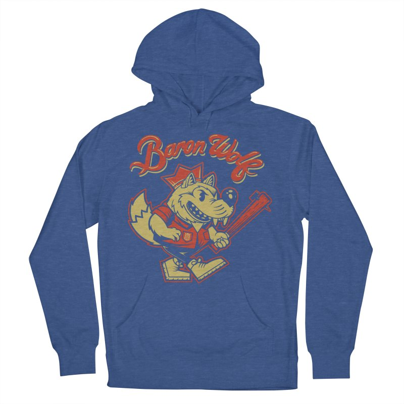 BARKLEY THE WOLF! Women's Pullover Hoody by Baron Wolf Creative