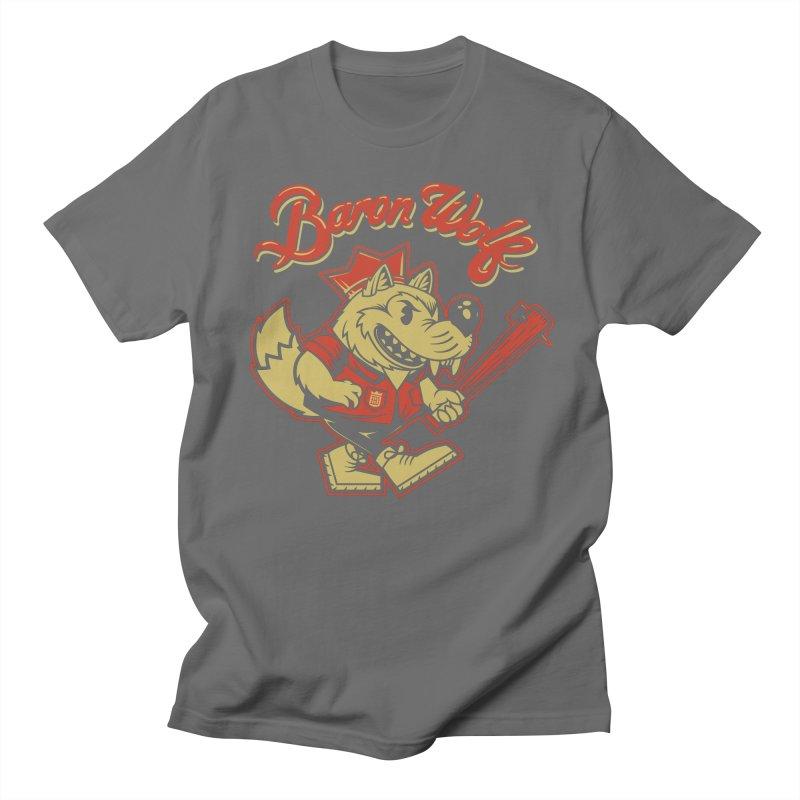 BARKLEY THE WOLF! Women's Unisex T-Shirt by Baron Wolf Creative