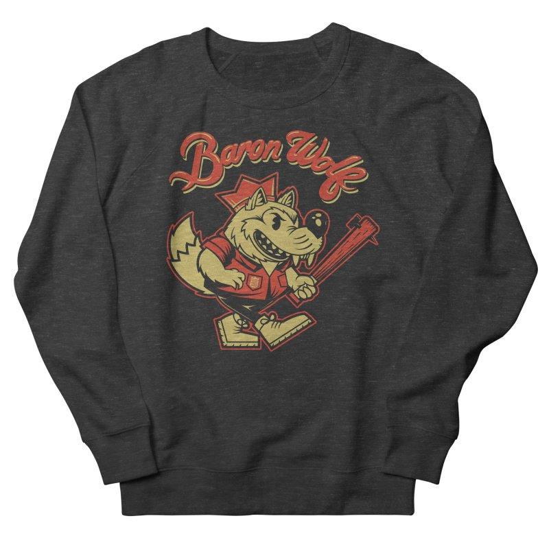 BARKLEY THE WOLF! Men's Sweatshirt by Baron Wolf Creative