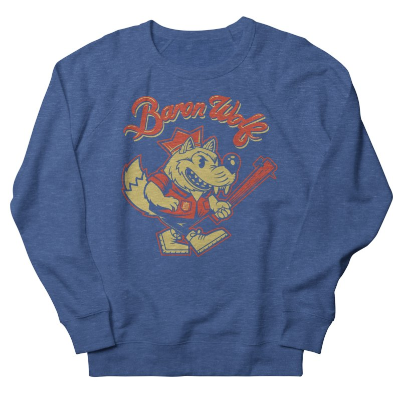 BARKLEY THE WOLF! Men's Sweatshirt by Baron Wolf Creative
