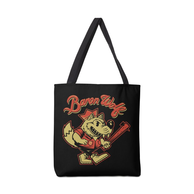 BARKLEY THE WOLF! Accessories Bag by Baron Wolf Creative