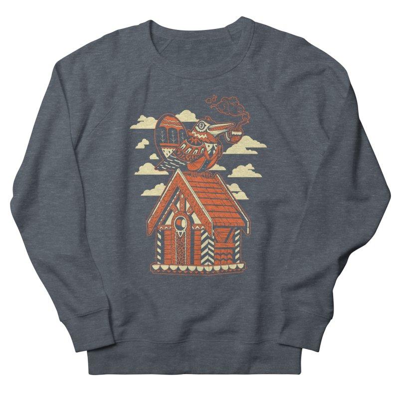THE CRIMSON BIRDHOUSE Men's Sweatshirt by Baron Wolf Creative