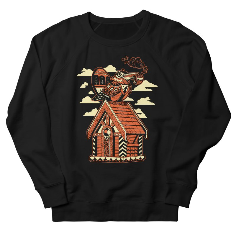 THE CRIMSON BIRDHOUSE Men's Sweatshirt by Baron Wolf Creative
