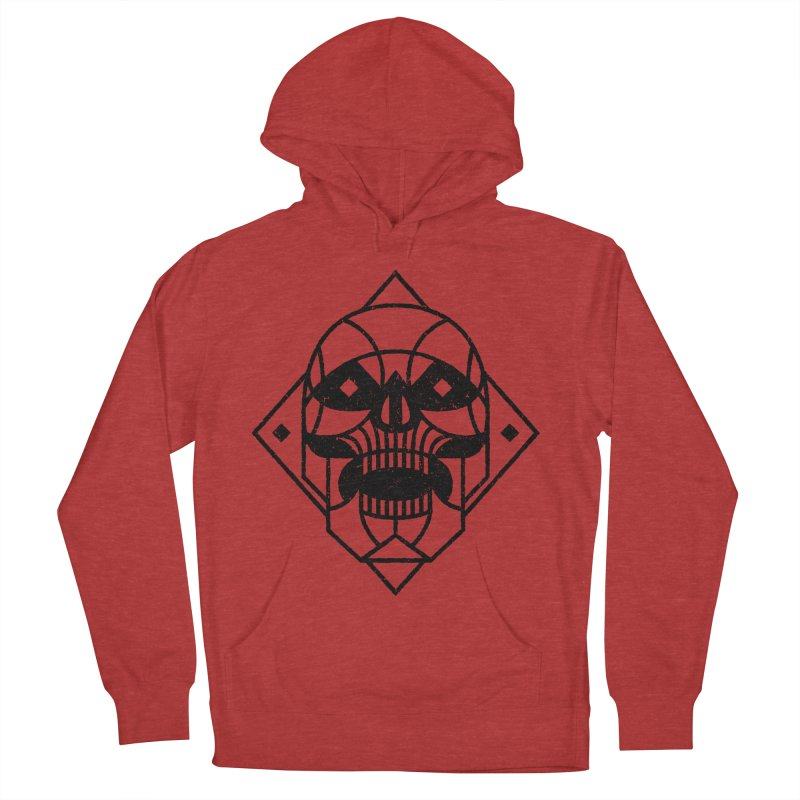 MINIMAL SKULL Women's Pullover Hoody by Baron Wolf Creative