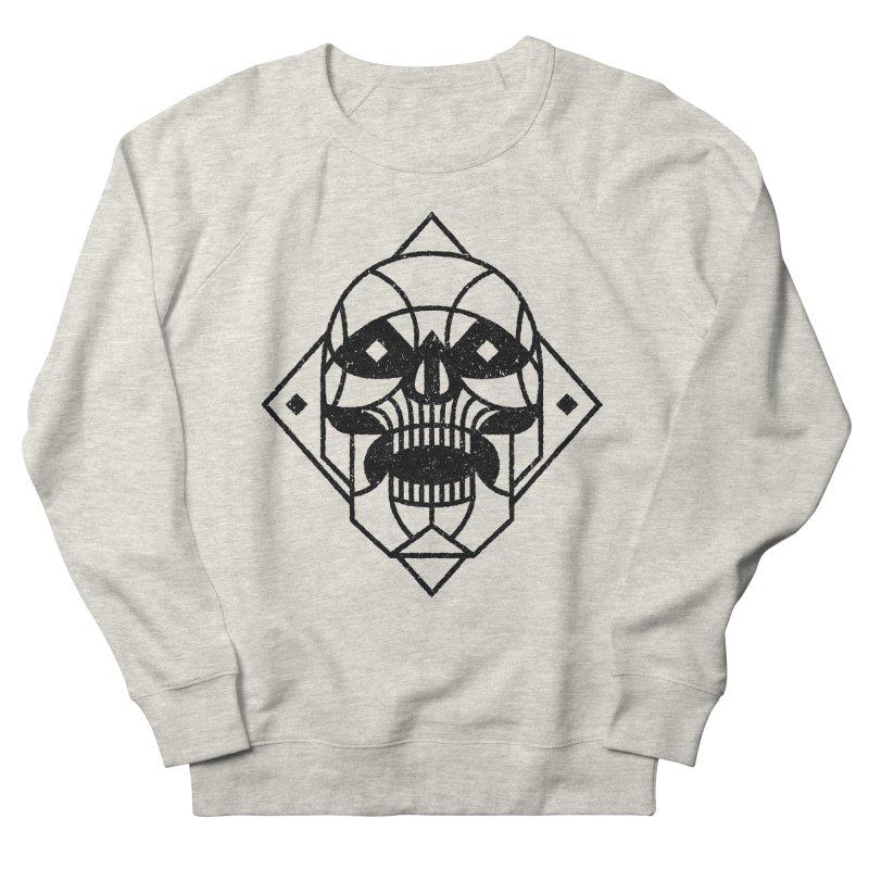 MINIMAL SKULL Men's Sweatshirt by Baron Wolf Creative