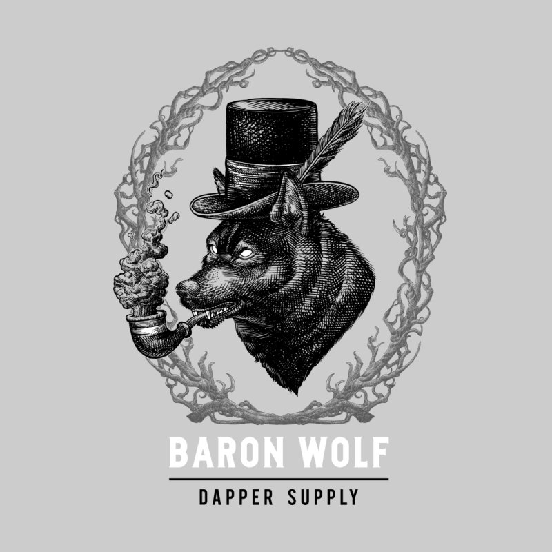 BARON WOLF DAPPER SUPPLY Women's Pullover Hoody by Baron Wolf Creative