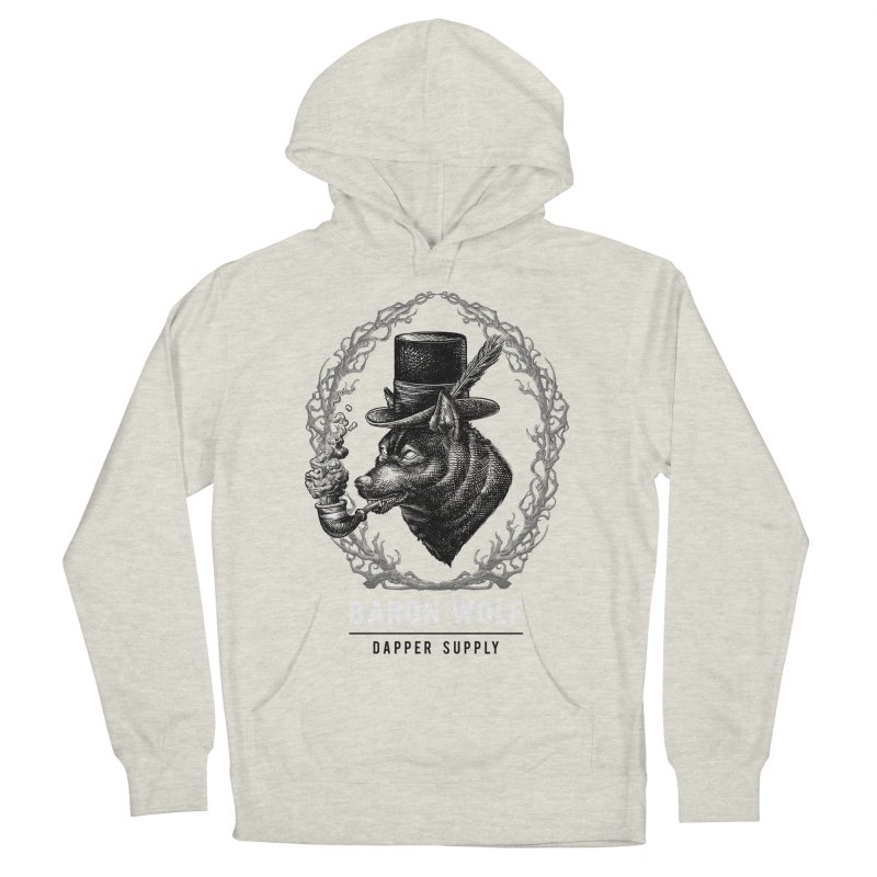 BARON WOLF DAPPER SUPPLY Men's Pullover Hoody by Baron Wolf Creative