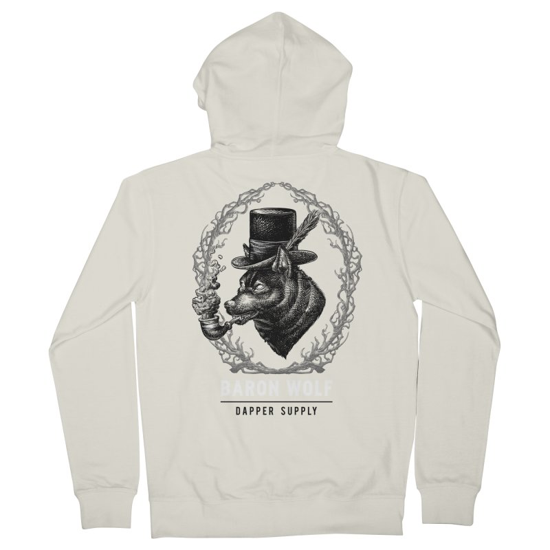 BARON WOLF DAPPER SUPPLY Women's Zip-Up Hoody by Baron Wolf Creative