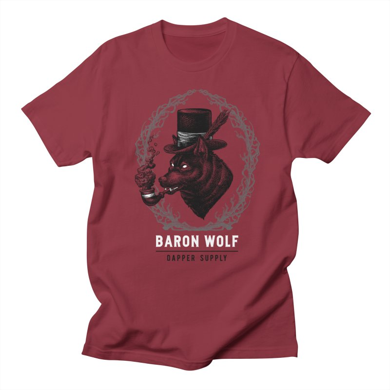 BARON WOLF DAPPER SUPPLY Women's Unisex T-Shirt by Baron Wolf Creative