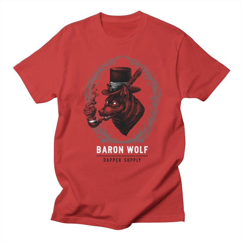 BARON WOLF DAPPER SUPPLY Men's T-shirt by Baron Wolf Creative