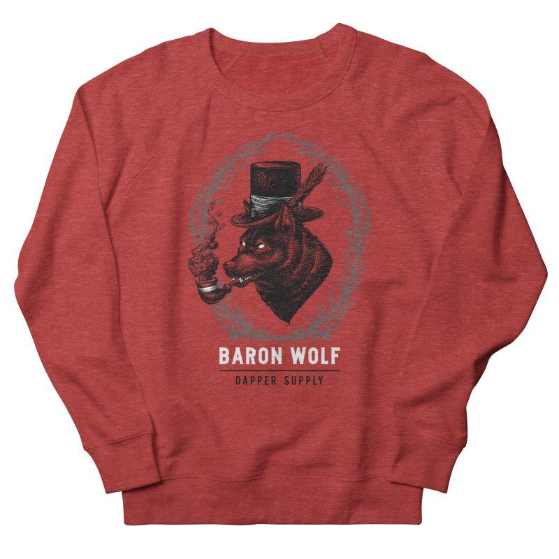 BARON WOLF DAPPER SUPPLY Women's Sweatshirt by Baron Wolf Creative