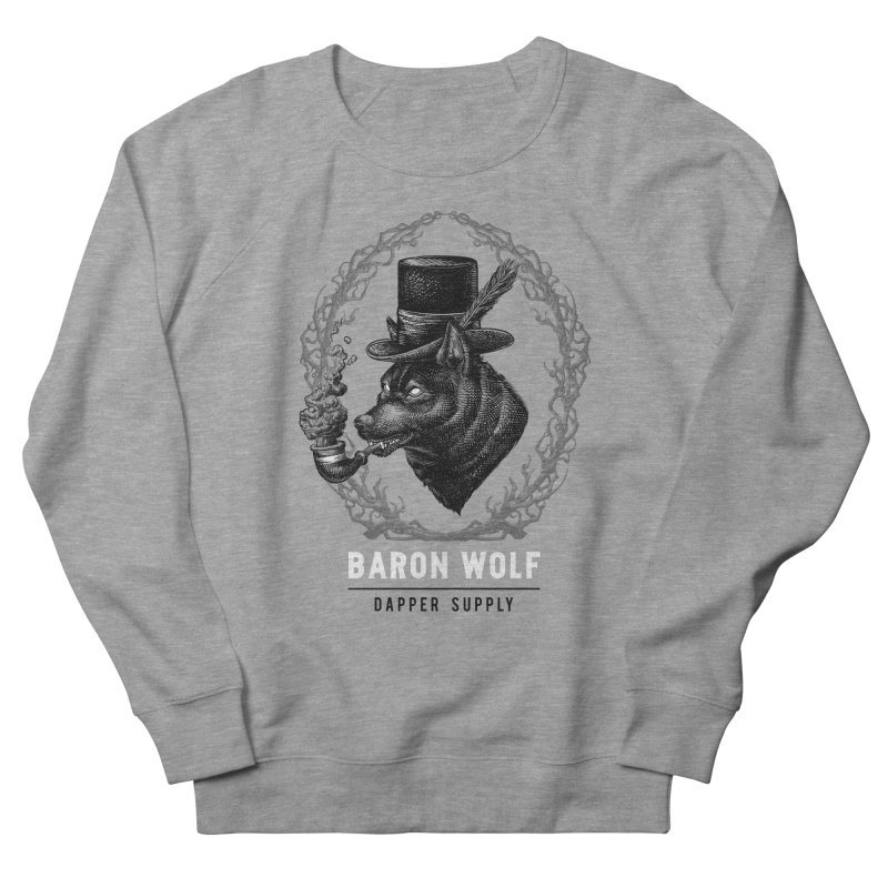 BARON WOLF DAPPER SUPPLY Men's Sweatshirt by Baron Wolf Creative
