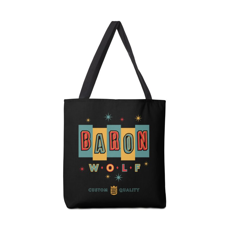 BARON WOLF RETRO Accessories Bag by Baron Wolf Creative
