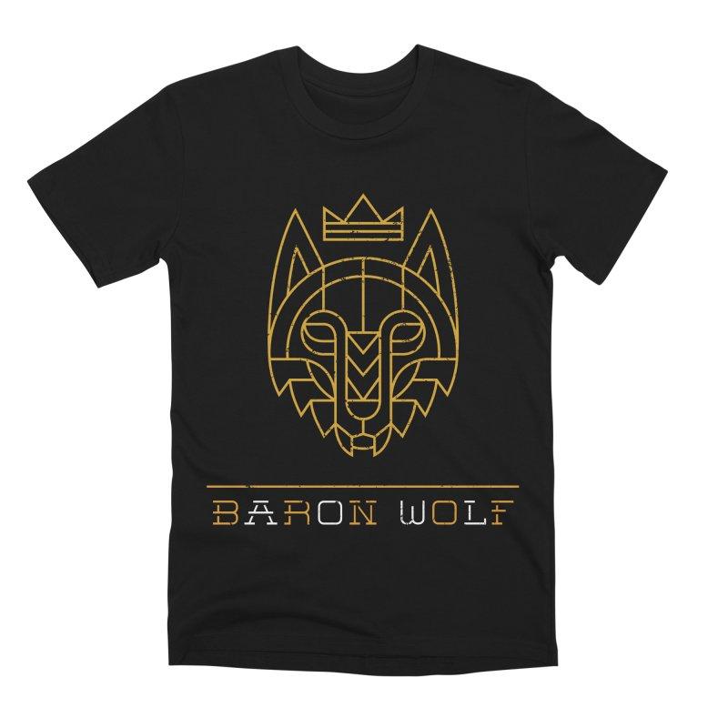 BARON WOLF LOGO Men's Premium T-Shirt by Baron Wolf Creative