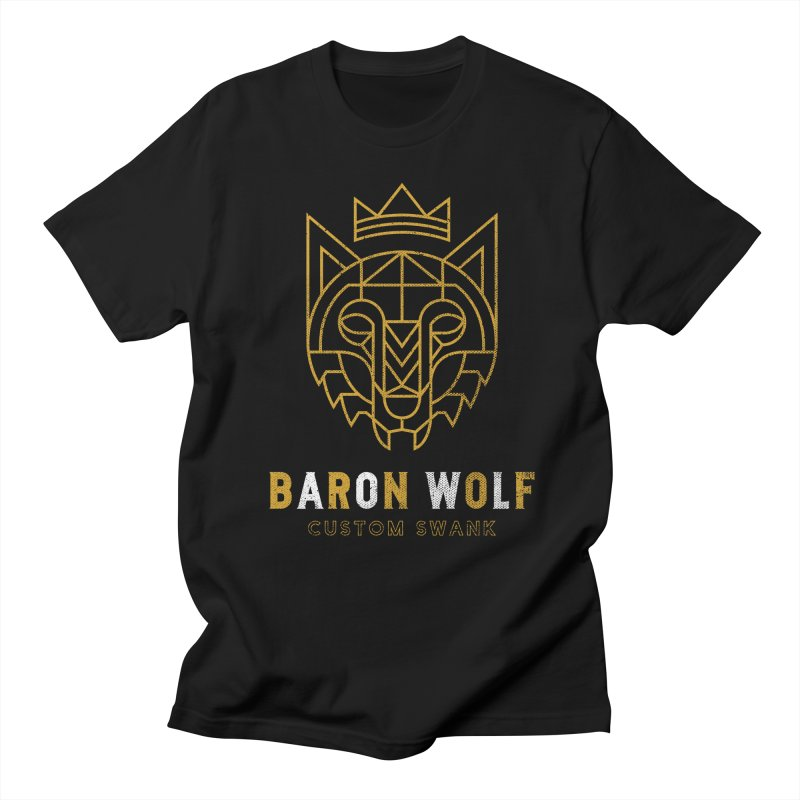 BARON WOLF LOGO Men's T-Shirt by Baron Wolf Creative
