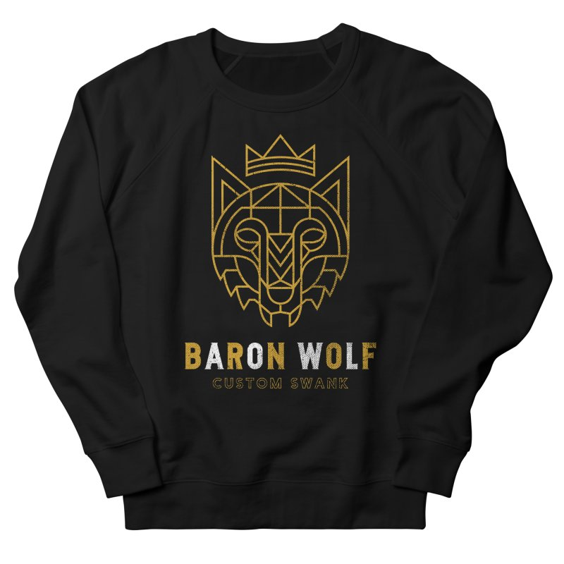 BARON WOLF LOGO Men's Sweatshirt by Baron Wolf Creative