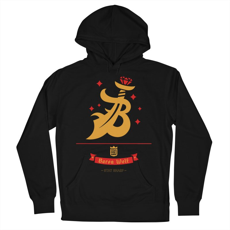 BARON WOLF SCIMITAR Women's Pullover Hoody by Baron Wolf Creative