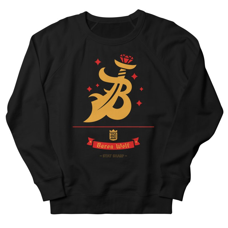 BARON WOLF SCIMITAR Men's Sweatshirt by Baron Wolf Creative