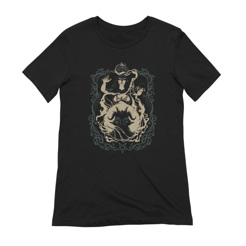 CRYSTAL BALL Women's Extra Soft T-Shirt by Baron Wolf Creative