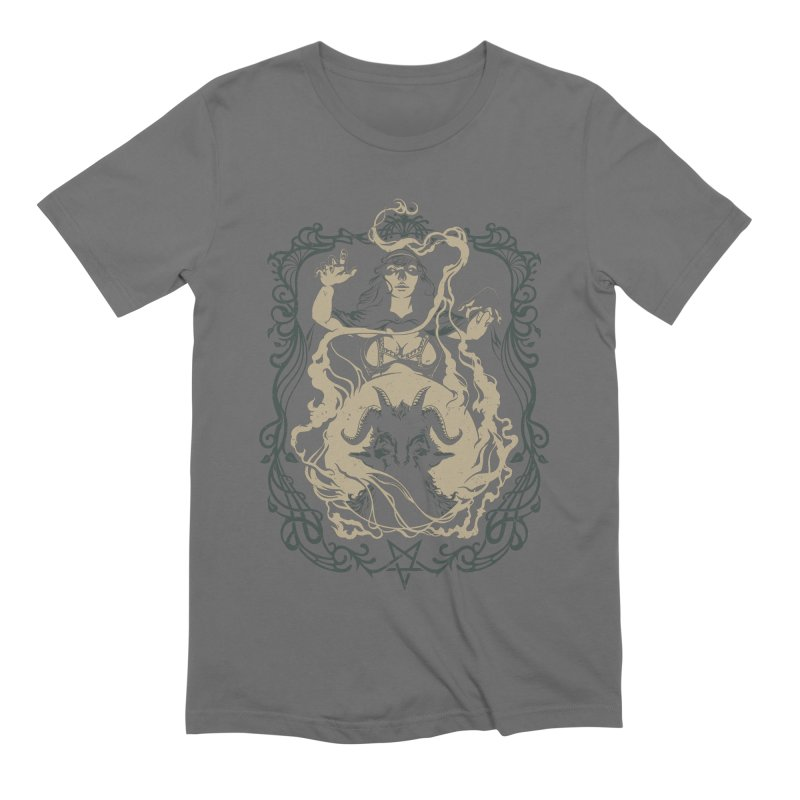 CRYSTAL BALL Men's Extra Soft T-Shirt by Baron Wolf Creative